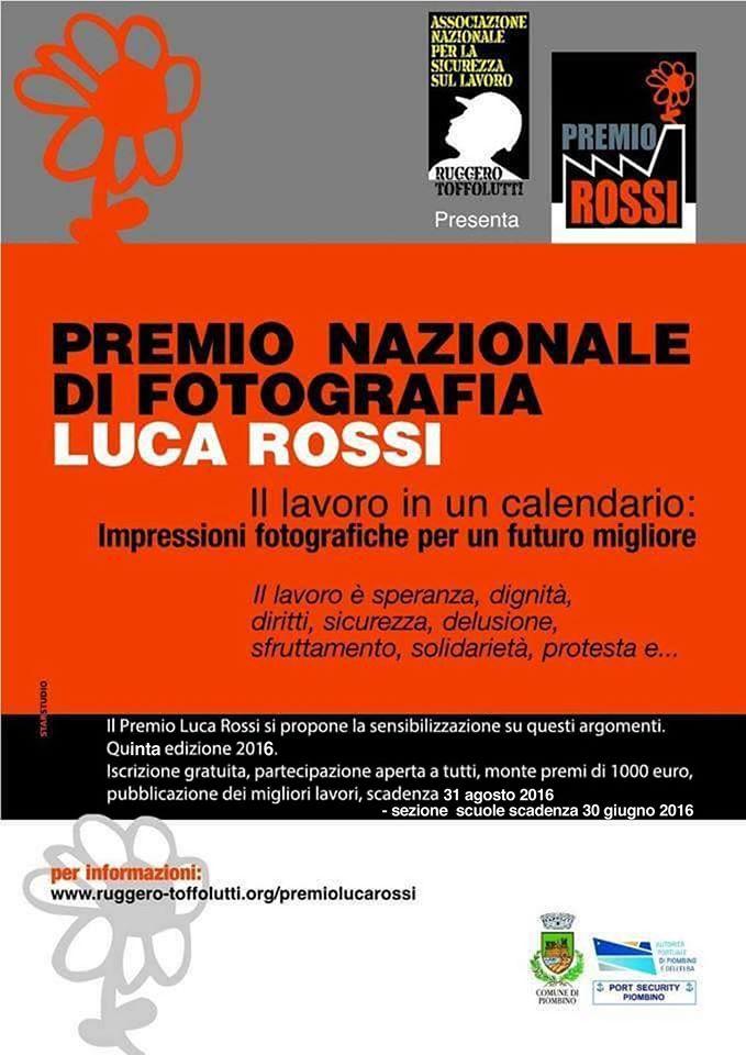 Premio Nazionale di Fotografia Luca Rossi 5° Edizione