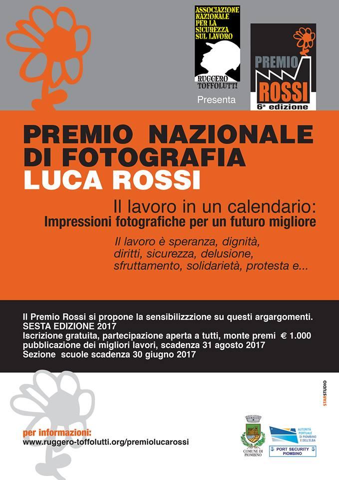 """Vincitore della 6° Edizione concorso fotografico """"Luca Rossi"""""""