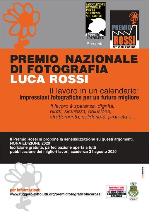 Nona edizione concorso fotografico Luca Rossi